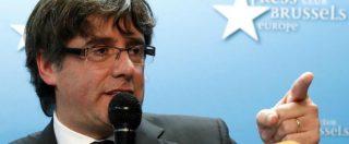 """Catalogna, Puigdemont resta in Belgio. """"Sia interrogato qui, non a Madrid"""""""