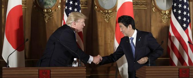 """Usa, Trump: """"No al trattato di libero scambio, ci penalizza"""". E su Pyongyang: """"La pazienza strategica è finita"""""""