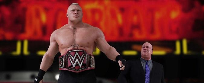 WWE 2K18: sport e spettacolo nel nuovo videogioco dedicato al wrestling