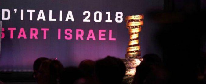 Il Giro d'Italia parte da Israele, un'occasione di pace si trasforma in bile