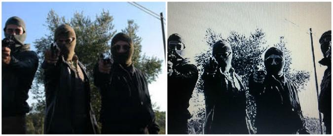 """Reggio Calabria, arrestati per detenzione di armi: """"In quella foto sono loro"""". Ma era una scena di Romanzo Criminale"""