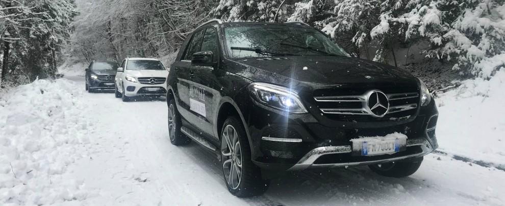 Mercedes, compleanno in montagna con gli sport utility – FOTO
