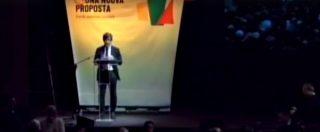 Al via l'assemblea nazionale di Mdp, Si e Possibile: standing ovation per Pietro Grasso. Segui la diretta