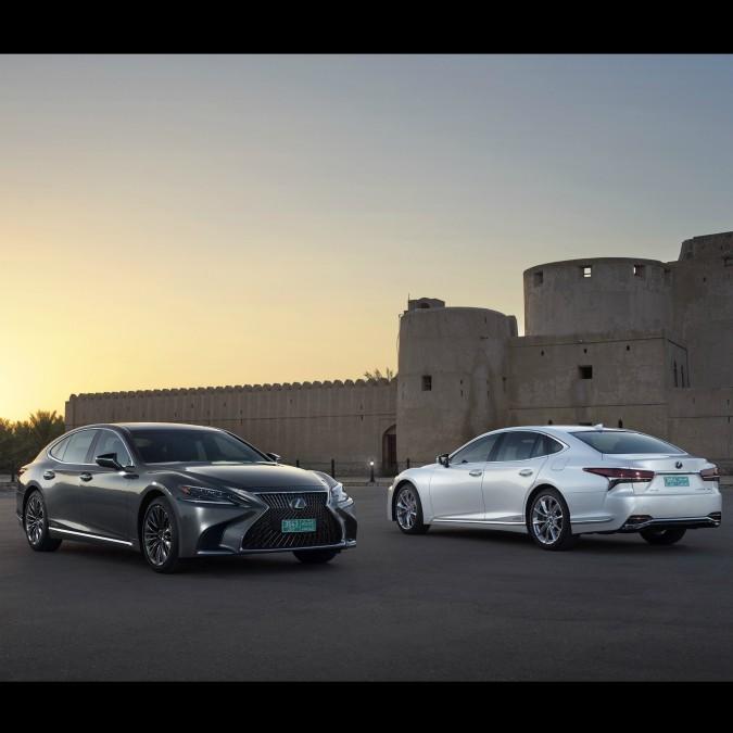 Lexus LS Hybrid, l'ibrido di lusso è servito