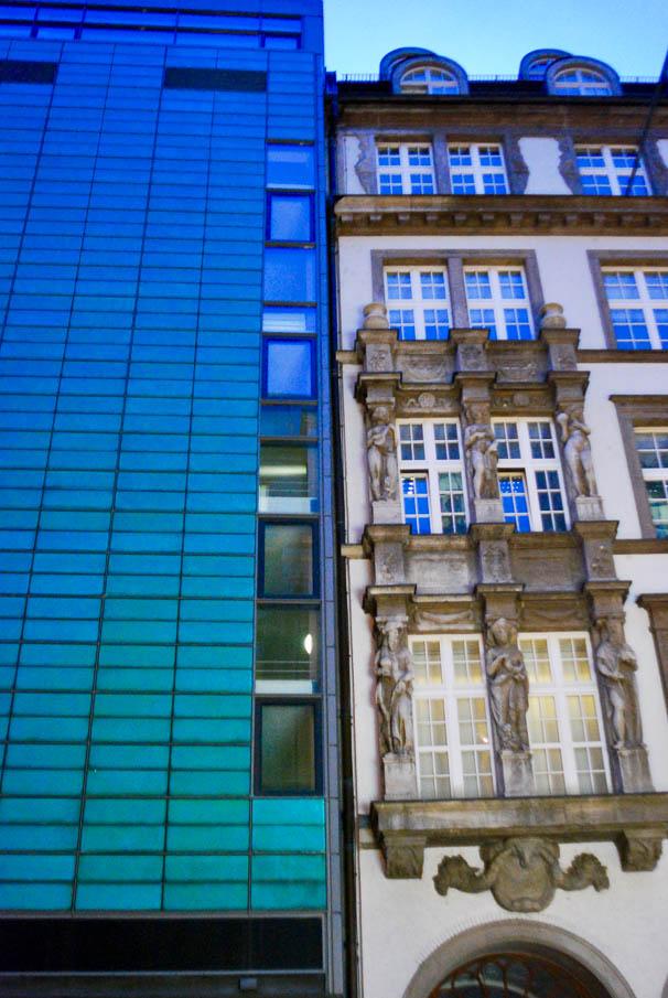 Contrasti architettonici