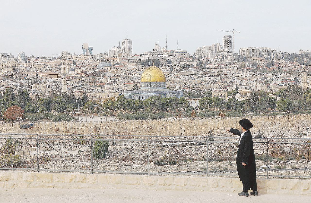 """Gerusalemme capitale """"Trionfo del non sense"""""""