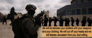 """Gerusalemme, la mossa di Trump agita gli jihadisti. Vidino: """"Adesso è più alto il rischio di attacchi in Europa e Stati Uniti"""""""