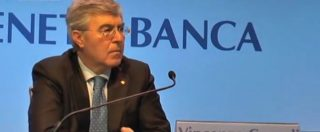 """Etruria, Consoli (ex Veneto Banca): """"Incontro anche con Boschi, ma non proferì parola"""""""