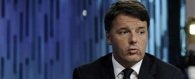 La solitudine di Renzi