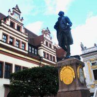 La statua di Goethe