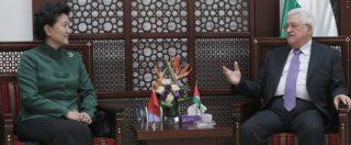 Gerusalemme. La Cina, in affari con Israele e Ramallah, si gode lo sgretolarsi del soft power Usa in Medio Oriente