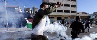 Gerusalemme, si infiammano i Territori. Esercito israeliano: 'Scontri in 20 punti'. Raid su Gaza: 'Uccisi 2 membri di Hamas'