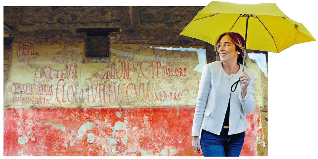 Guida per Maria Elena agli usi elettorali dell'antica Pompei