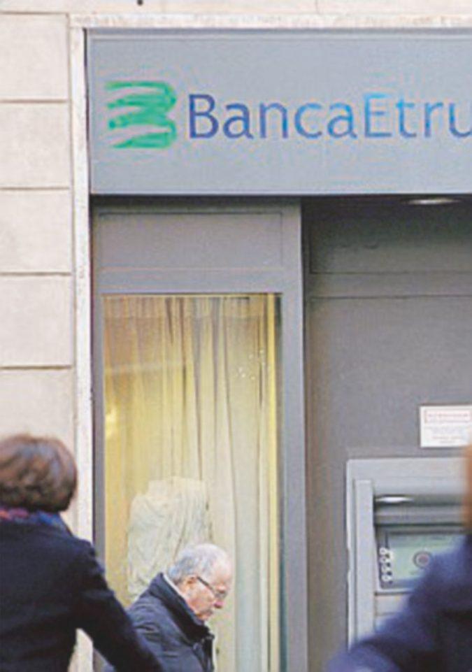 Etruria, inchiesta sui crediti svenduti poco prima del crac