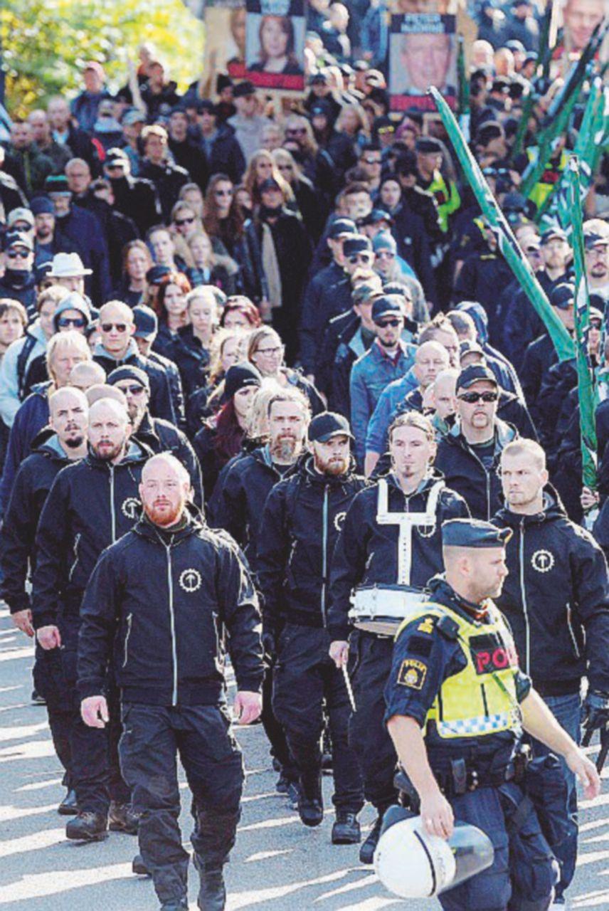 Movimento Nordico di Resistenza, la marea nera dilaga in Scandinavia