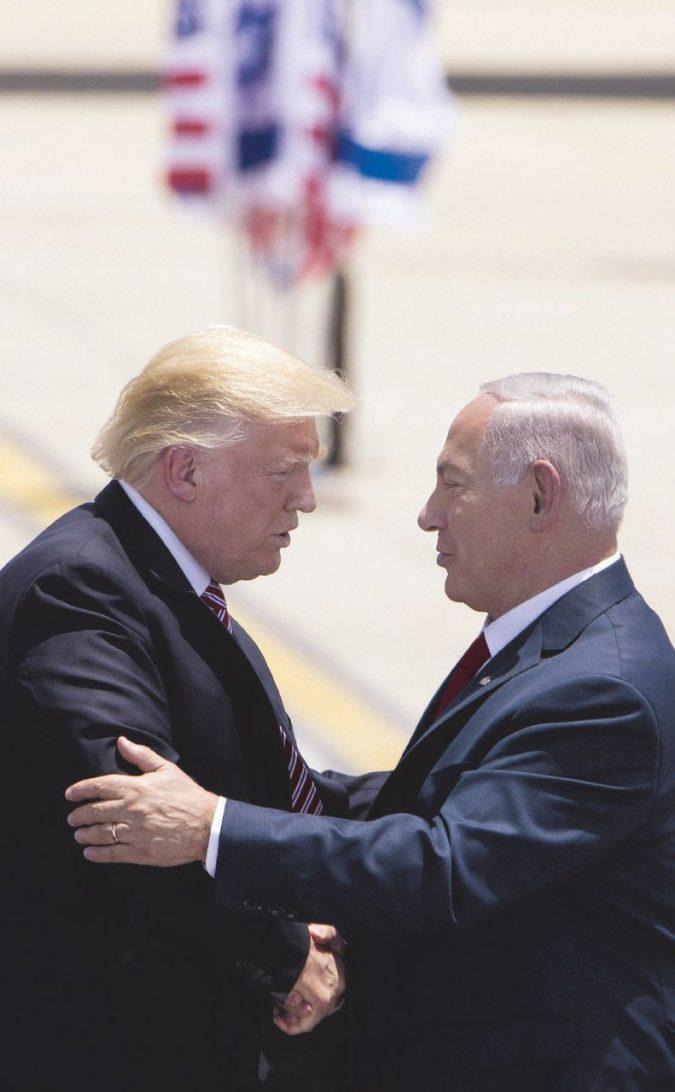 I nemici di Israele ringraziano Trump