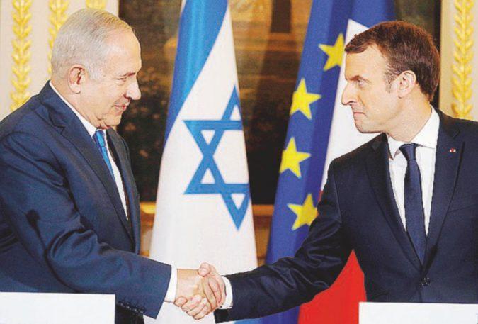 """Macron a muso duro su Netanyahu: """"La mossa Usa è un colpo alla pace. Ora stop alle colonie"""""""