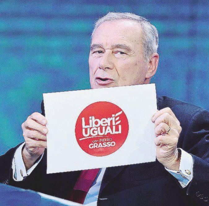 """Grasso presenta il simbolo: """"Guiderò io, non D'Alema. Il futuro di Renzi è poco roseo"""""""