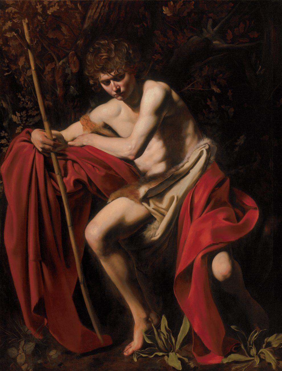 San Giovanni Battista, 1604 circa. Olio su tela, 172,72 x 132,08 cm. The Nelson-Atkins Museum of Art, Kansas City, Missouri Photo: Jamison Miller, © The Nelson-AtkinsMuseum of Art