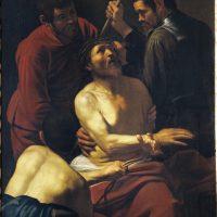 Incoronazione di spine, 1604-1605 circa. Olio su tela, 178x 125 cm. Banca Popolare di Vicenza, Vicenza Archivio fotografico Collezione Banca Popolare di Vicenza