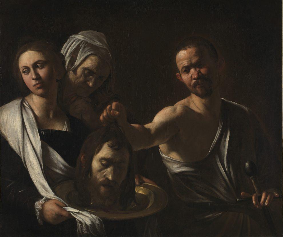 Salomé con la testa del Battista,1607 o 1610. Olio su tela, 91,5 x 106,7 cm. National Gallery, Londra © The National Gallery, London 2017. Bought, 1970
