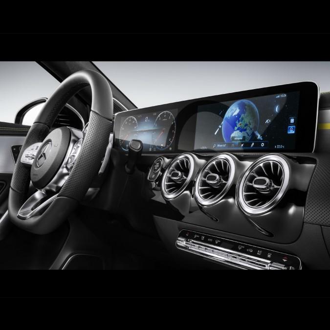 Mercedes-benz, al CES di Las Vegas punta su infotainment e intelligenza artificiale – FOTO
