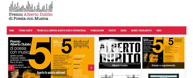 Premio Alberto Dubito di Poesia con musica, cinque anni dopo siamo sempre Disturbati dalla CUiete