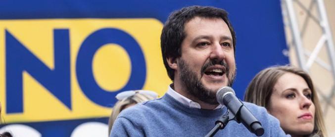 """Sicurezza, Salvini: """"Berlusconi? Nessun tavolo con chi protegge gli stupratori"""""""