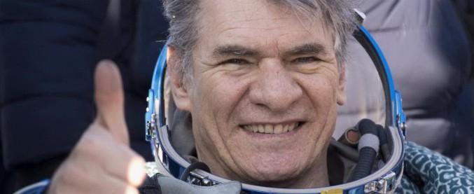 Paolo Nespoli, astronauta atterrato in Kazakhstan a bordo della Soyuz