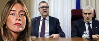 Boschi, così Vegas (Consob) sconfessa l'ex ministra su Etruria. Le facce di Casini e le risate della commissione