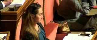 """Biotestamento, Paola Taverna (M5s) in lacrime in Senato: """"Consegnata una pagina di civiltà al Paese"""""""