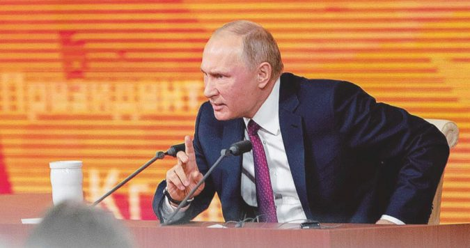 """""""Io sono la Russia, voi non siete nessuno"""""""