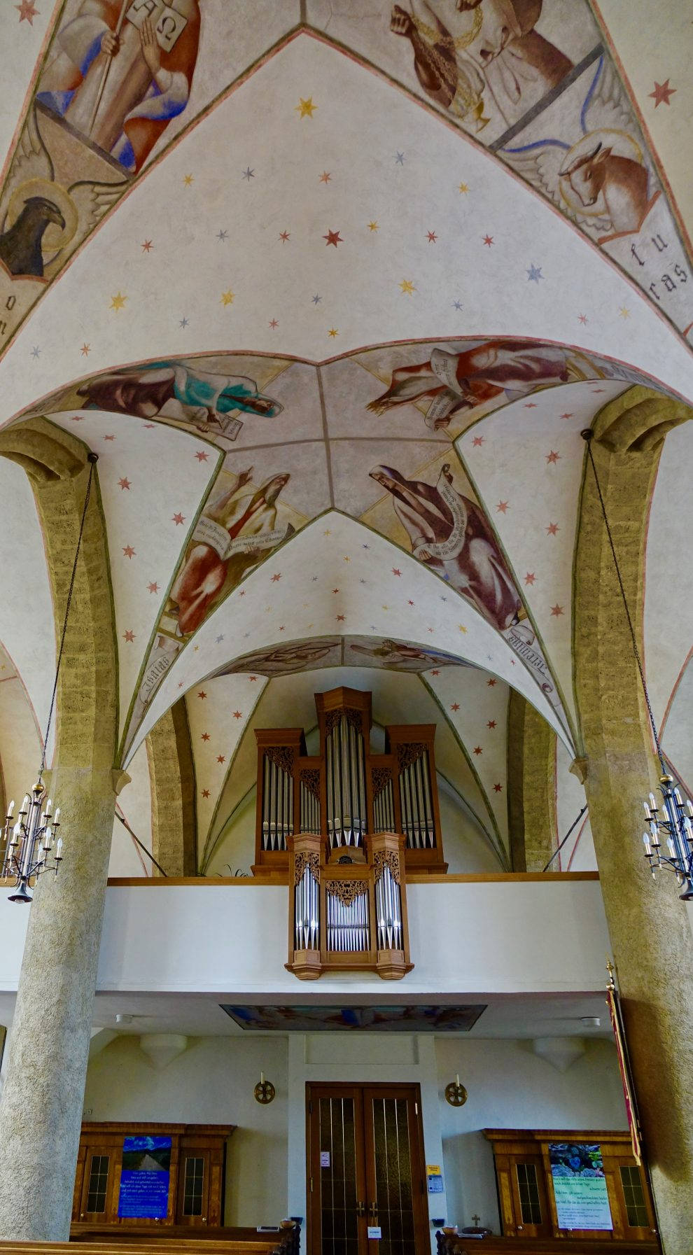 Il celebre organo da record della fortezza
