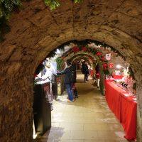 Il mercatino di Natale nella casamatta della fortezza