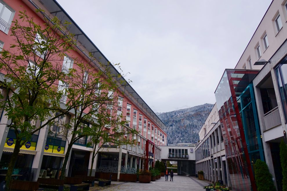 Il modernissimo Kultur Quartier di Kufstein