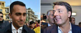 """Liste, Renzi: """"Gli indagati non sono impresentabili, o per voi è dramma"""". Di Maio: """"Hai scelto di difenderli, ritirali"""""""
