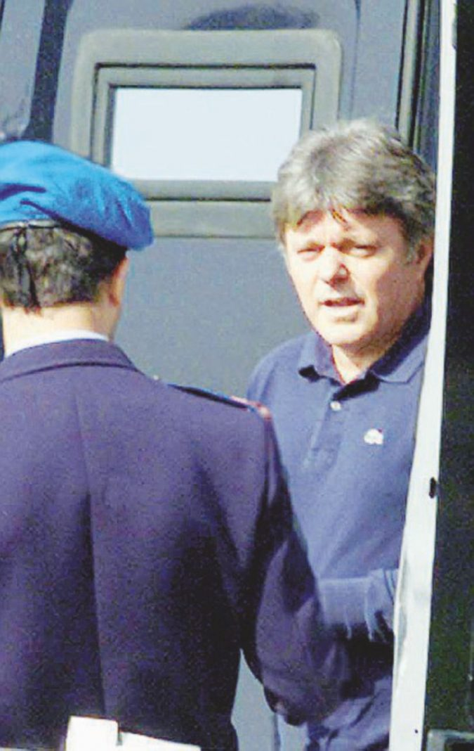 Fascista e spia, Tramonte martedì a Rebibbia