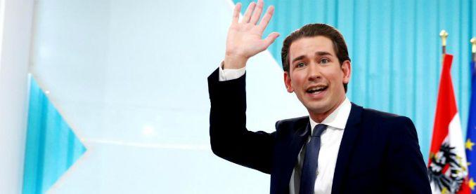 Austria, c'è intesa sul governo. All'estrema destra 3 ministeri chiave: Esteri, Difesa e Interno