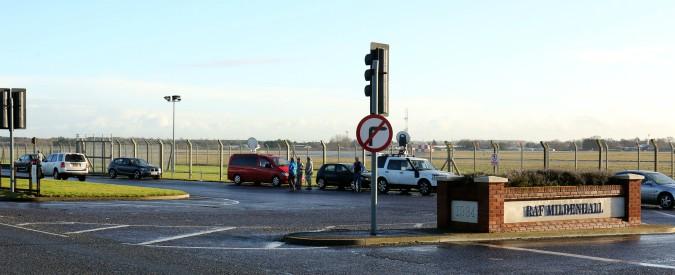 Regno Unito, auto contro base militare Gb-Usa di Mildenhall: un arresto