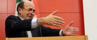 """Banche, Bersani: """"Banca 121 e Mps? Renzi parli chiaro, lasci stare messaggi mafiosi"""""""