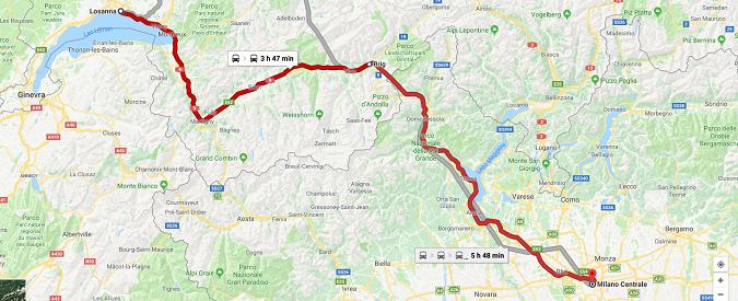 Svizzera, ancora disagi: 19 ore da Losanna a Milano in treno. Ma non erano infallibili?