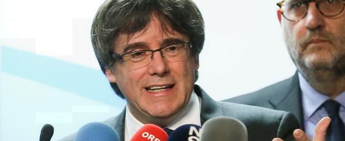 """Catalogna, Puigdemont liberato su cauzione in Germania. """"Non sussiste il reato di ribellione contestato da Madrid"""""""