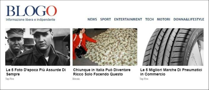 Editoria, Triboo acquisisce Blogo.it. Il sito di blog riparte: confermati firme e linea editoriale