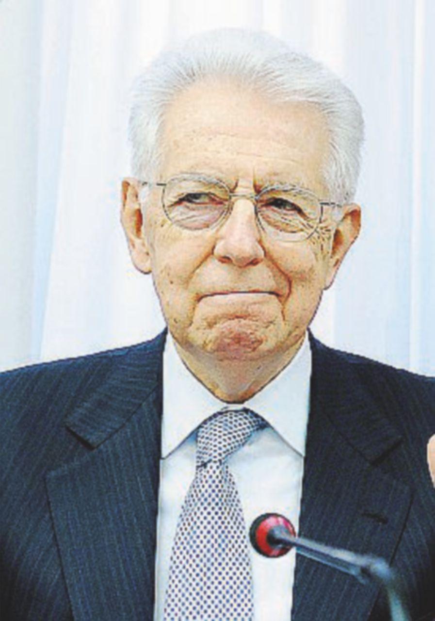 """Monti: """"Non potevo salvare Mps e le altre coi soldi pubblici"""""""