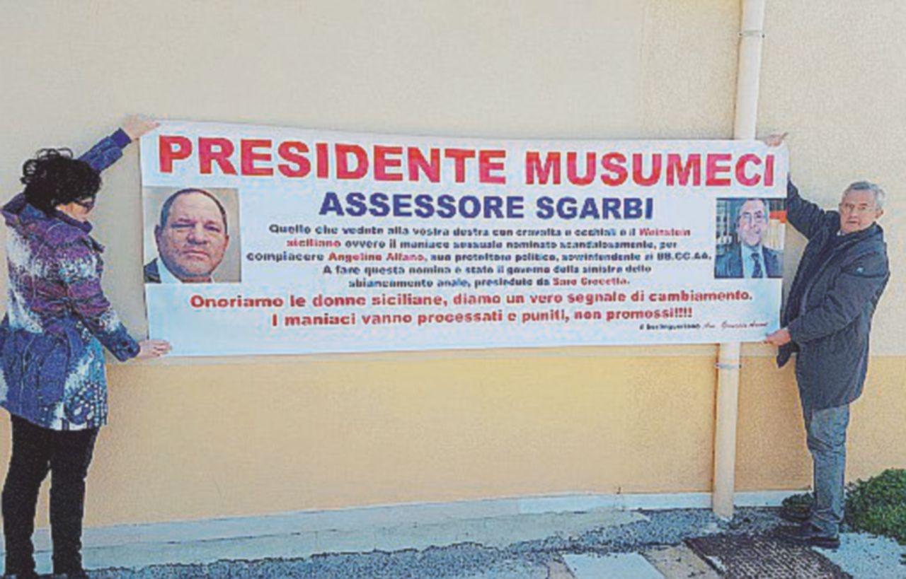 Musumeci e Sgarbi, nuova grana: il processo per stalking al sovrintendente Enzo Caruso