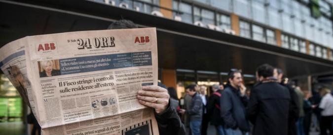 """Sole 24 Ore, sciopero prima di Natale. Il giornale non va in edicola per 4 giorni: """"Dall'azienda atto senza precedenti"""""""