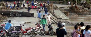 Filippine, tempesta tropicale provoca 200 vittime e incendio in centro commerciale: altri 36 morti