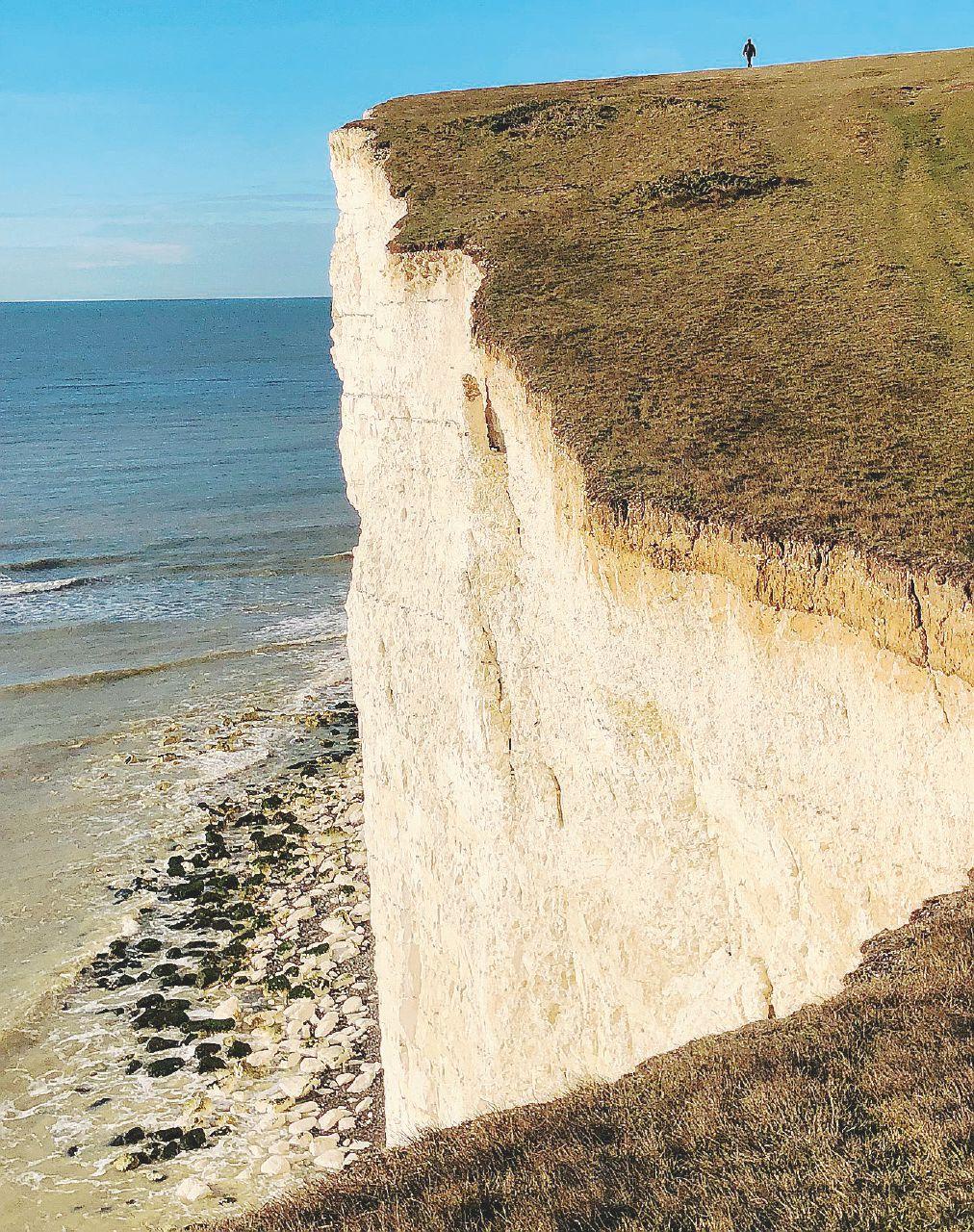Sulle scogliere del Sussex  alla ricerca dei Cazalet