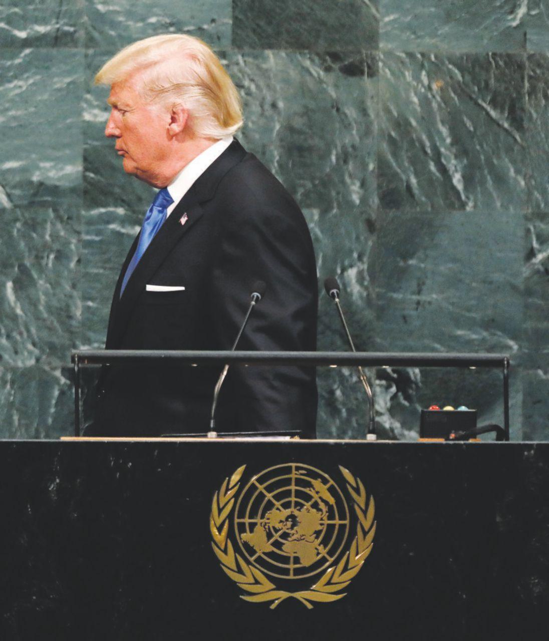 Trump davvero contro tutti riduce anche la paga all'Onu