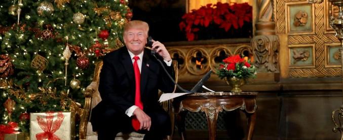 Trump, quando anche dire Buon Natale diventa di destra